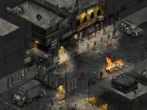 Visualization shot for the new Black Powder \\ Red Earth game!