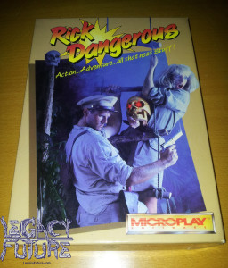 RICK DANGEROUS BOX FRONT (PC version)