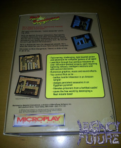 RICK DANGEROUS BOX REAR (PC version)