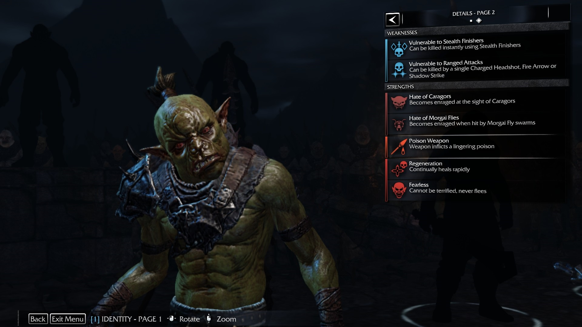 GHAM THE TINY - Shadow of Mordor.